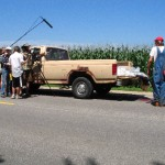 truck cornfield shoot sm