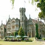 Oakley Court exterior with Tables