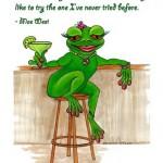 mae west frog